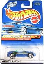 Hot Wheels 1999 X-Treme Speed Series blue Mazda MX-5 Miata Die Cast Car #4/4 1:64 Scale
