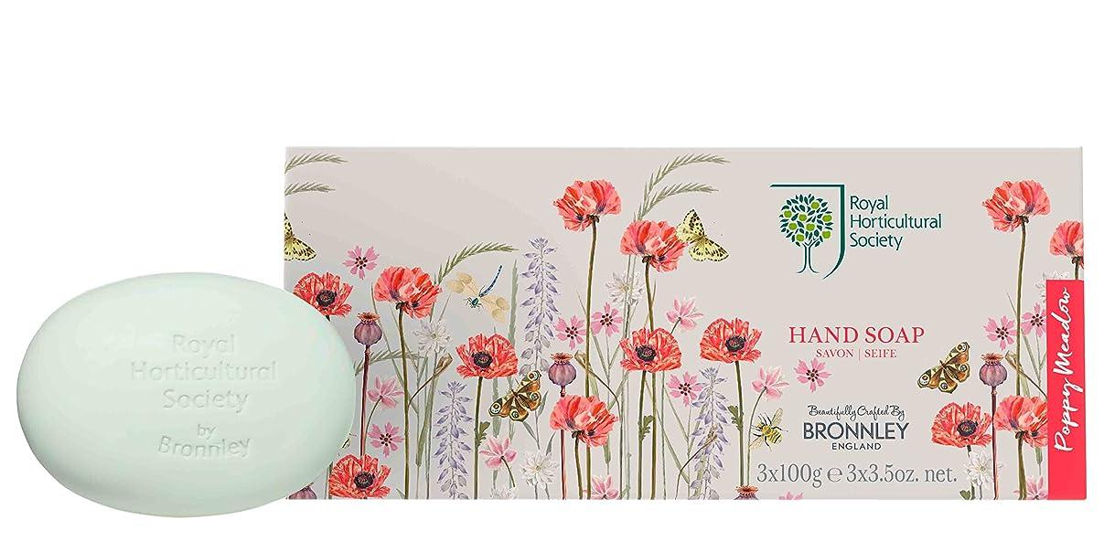 私早く旅行RHS Poppy Meadow – Soap Collection 3 x 100g