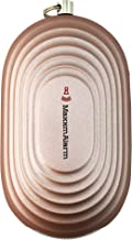 MaxxmAlarm Replaceable Battery SOS Alert Portable Personal Security Alarm Panic Button with Led Light - 130dB Alarm - Safety (Matte Rose Gold)