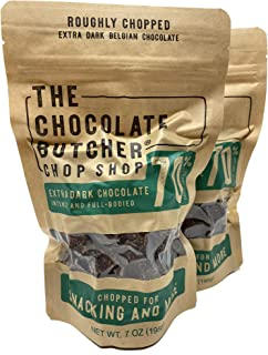 The Chocolate Butcher / Extra Dark Chocolate 70% / Chopped for Snacking or Melting