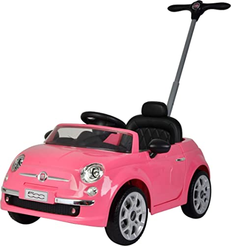 Best Ride On Cars Fiat Push car Pink