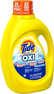 Tide Plus Simply Oxi Refreshing Breeze Detergent, 115 Ounce