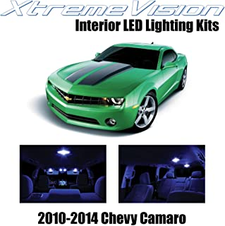 XtremeVision Interior LED for Chevy Camaro 2010-2014 (6 Pieces) Blue Interior LED Kit + Installation Tool