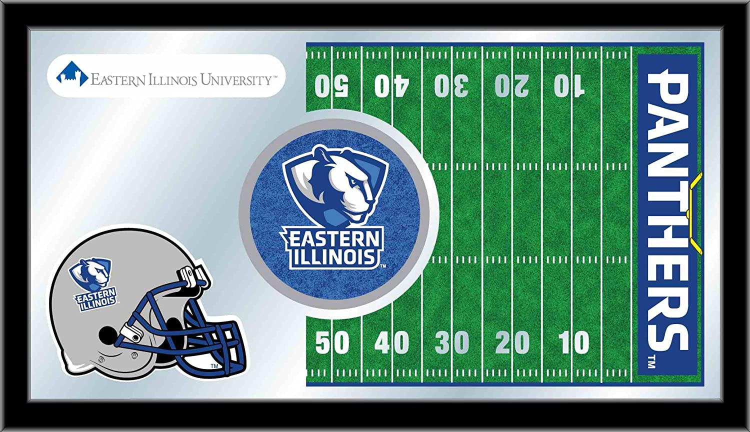 Holland Bar Stool NCAA Eastern Illinois Panthers 15 x 26-Inch Football Mirror