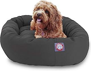 "Majestic Pet 32"" Gray Bagel Dog Bed"