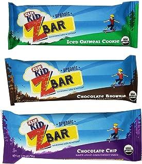 CLIF Kids Zbar Variety Pack, 1.27 oz, 36 Count