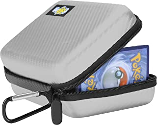 Totem Word 200+ Card Zipper Case Organizer - Compatible with Pokemon, Yu-Gi-Oh, and Magic The Gathering Cards - Perfect fo...