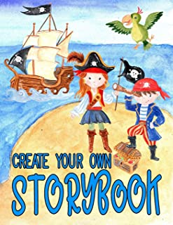 Create Your Own Storybook: Draw and Write Blank Boxed Area and Blank Lined Paper for Creating Your Own Story Book 100 pages