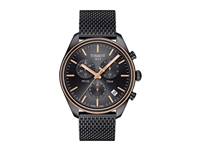 Tissot PR 100 Chronograph T1014172306100 (Silver/Grey) Watches