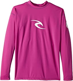 Rip Curl Kids - Corpo Long Sleeve UV Tee (Big Kids)