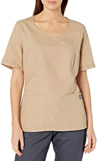Cherokee Men's V-Neck Scrub Top Medical Scrubs Shirt (pack of 1)