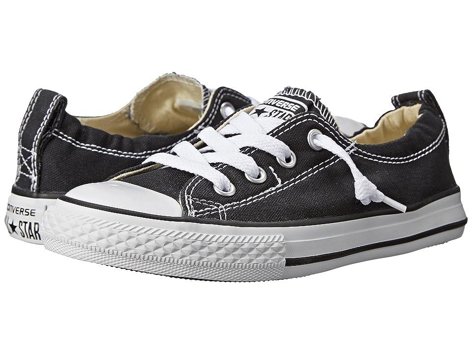 Converse Kids Chuck Taylor(r) All Star(r) Shoreline Slip (Little Kid/Big Kid) (Black) Girls Shoes