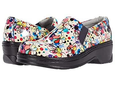 Klogs Footwear Naples (Abstract Floral Patent) Women