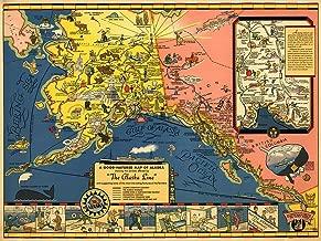 Best alaska railroad map Reviews