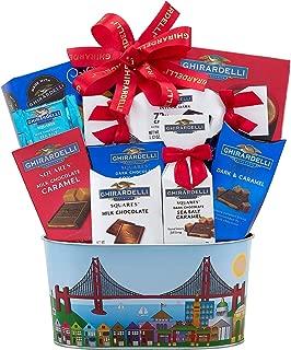 Wine Country Gift Baskets Christmas Ghirardelli Milk & Dark Chocolate Gift Basket, Holiday Gift Basket, Christmas Gift Basket, Family Gift Basket, Corporate Gift Basket, Birthday Gift