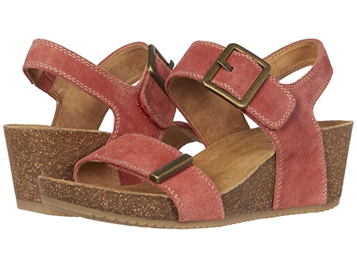 Comfortiva  Emberly (Coral Cow Suede) Womens Shoes