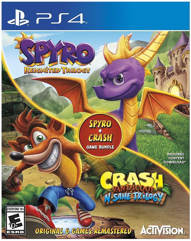 Spyro Crash Remastered Bundle - Albuquerque Mall 4 Ranking TOP19 PlayStation
