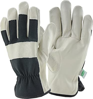 West Chester Scotts SC84004/L Grain Cowhide Driver Spandex Leather Gloves