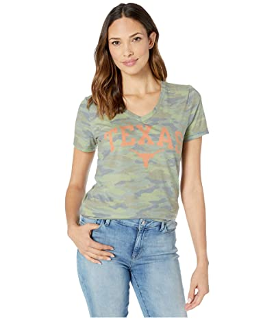 289c Apparel Texas Longhorns Troop Tee (Camo) Women