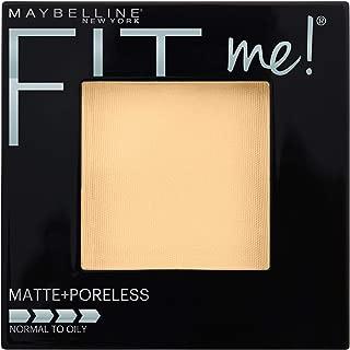 Maybelline New York Fit Me Matte + Poreless Powder Makeup, Porcelain, 0.29 Ounce, Pack of 1