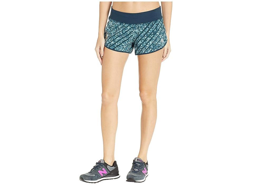 New Balance NYCM Printed 3 Impact Shorts (Galaxy) Women