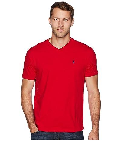 Polo Ralph Lauren Classic Fit V-Neck T-Shirt (RL2000 Red) Men