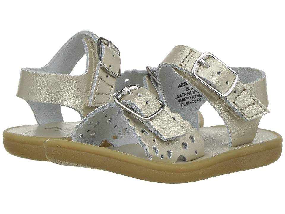 FootMates Ariel (Infant/Toddler/Little Kid) (Soft Gold) Girls Shoes