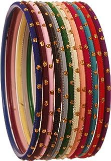 تاتشستون هندي بوليوود بارد أزياء ساحرة ذهبية لامعة منقوشة بألوان كلاسيكية مصممة مجوهرات سوار أساور للمرأة