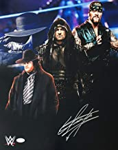 The Undertaker Signed Autographed 16x20 Photo Authenticated WWE WWF WCW 1 - JSA Certified - Autographed Wrestling Photos