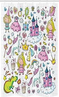 Ensemble de Salle de Bain en Tissu en Crochets ABAKUHAUS Rustique Rideau de Douche Stalle Brown Brun P/âle De Sable 120 x 180 cm Cave /À Vin Architecture
