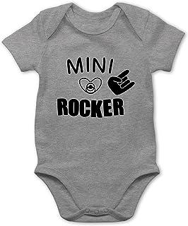 Shirtracer Strampler Motive - Mini Rocker - Baby Body Kurzarm für Jungen und Mädchen