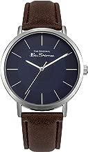 Ben Sherman Mens Analogue Classic Quartz Watch with PU Strap BS014UBR