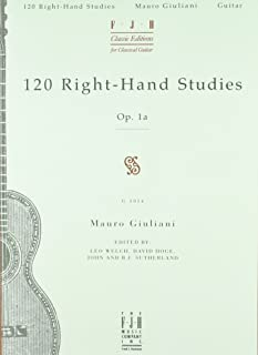 120 Right-hand Studies for Guitar