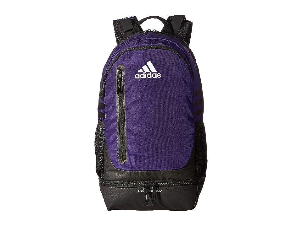 adidas Pivot Team Backpack (Collegiate Purple) Backpack Bags