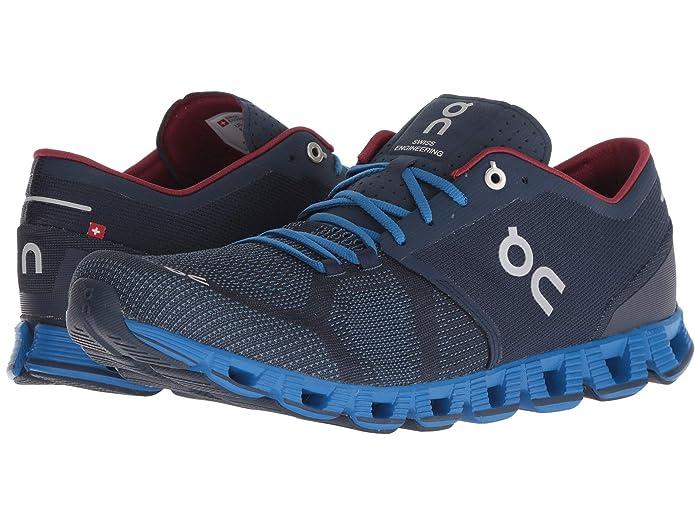On Cloud X (Midnight/Cobalt) Men's Shoes