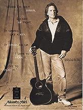 Alvarez Yairi Guitars - Bob Weir of The Grateful Dead - 1995 Print Advertisement
