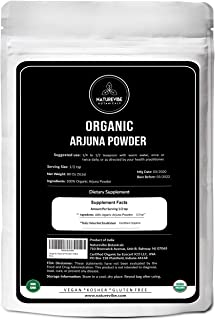 Naturevibe Botanicals USDA Organic Arjuna Bark Powder, 5lbs   Terminalia Arjuna - 100% Pure & Natural   Boosts Immunity (8...