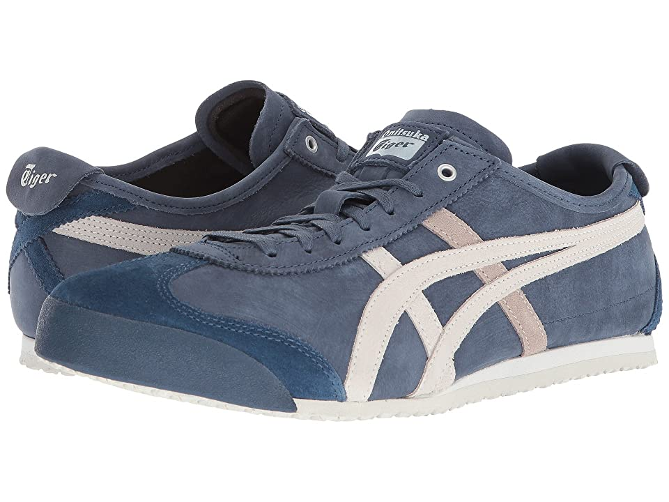 Onitsuka Tiger by Asics Mexico 66(r) (Dark Blue/Vaporous Grey) Athletic Shoes