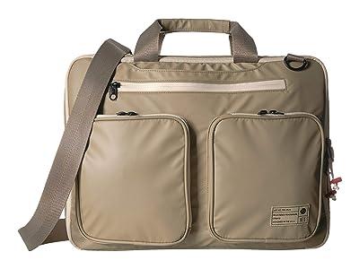 HEX Terra Expandable Briefcase (Khaki Utility) Briefcase Bags