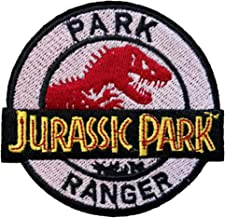 JURASSIC PARK RANGER Logo Patch Jurassic World Fallen Kingdom 3