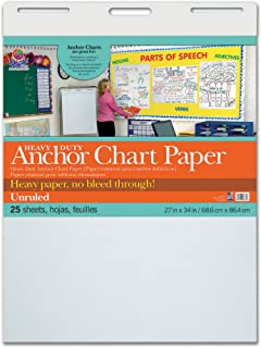 Pacon PAC3370 Heavy Duty Anchor Chart Paper, Unruled, 27