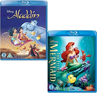 Aladdin - Little Mermaid - Walt Disney 2 Movie Bundling Blu-ray