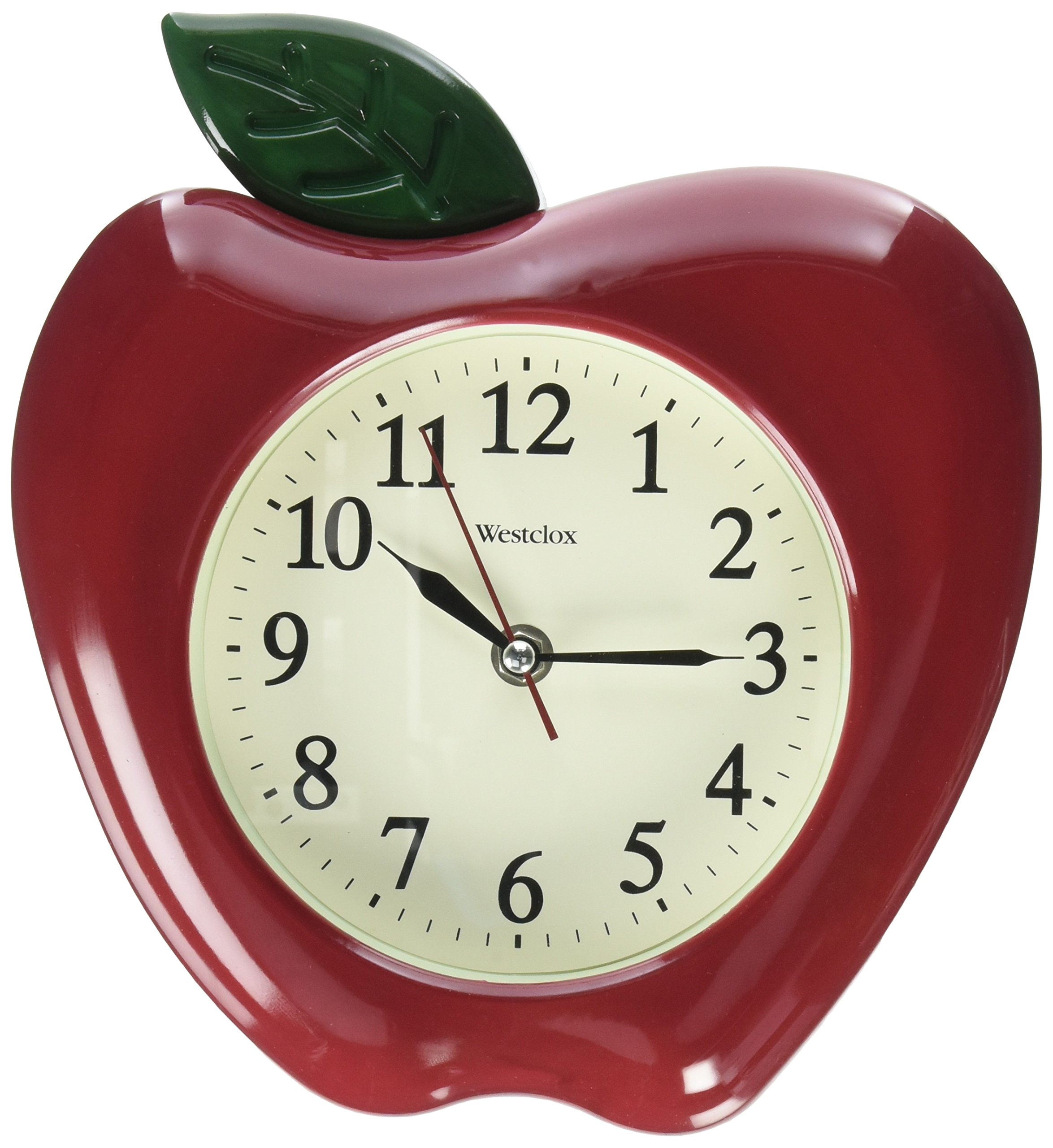 Westclox FBA_32038A Apple Clock Green