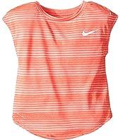 Nike Kids - Stripe Heather Gradient Dri-FIT Tee (Toddler)