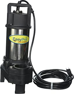 EasyPro Stainless Steel Submersible Pump, TH250 4100 GPH