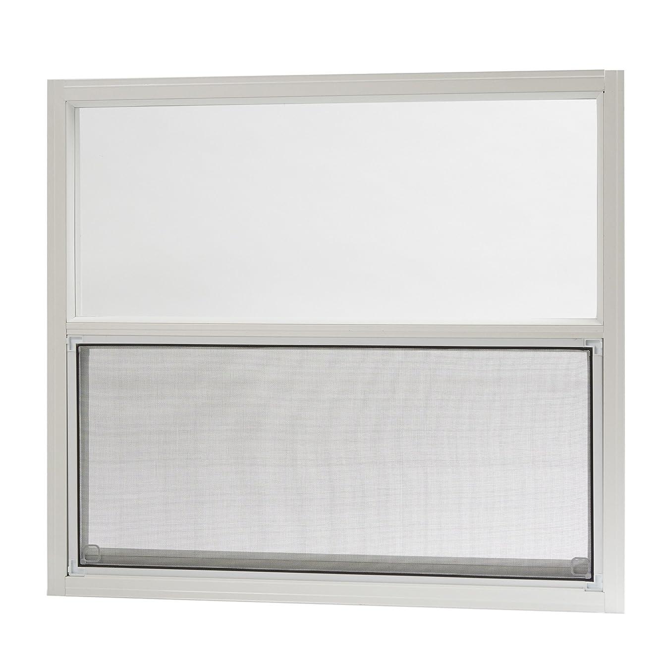 Park Ridge Products AMHW3027PR Park Ridge 30 in. x 27 in. Aluminum Mobile Home Single Hung Window – White,
