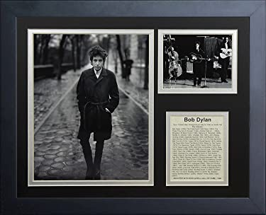 Legends Never Die Bob Dylan Framed Photo Collage, 11 by 14-Inch