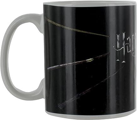 Preisvergleich für HARRY POTTER Thermoeffekt Tasse Zauberstäbe, Keramik, Mehrfarbig 8 x 8 x 12 cm 2