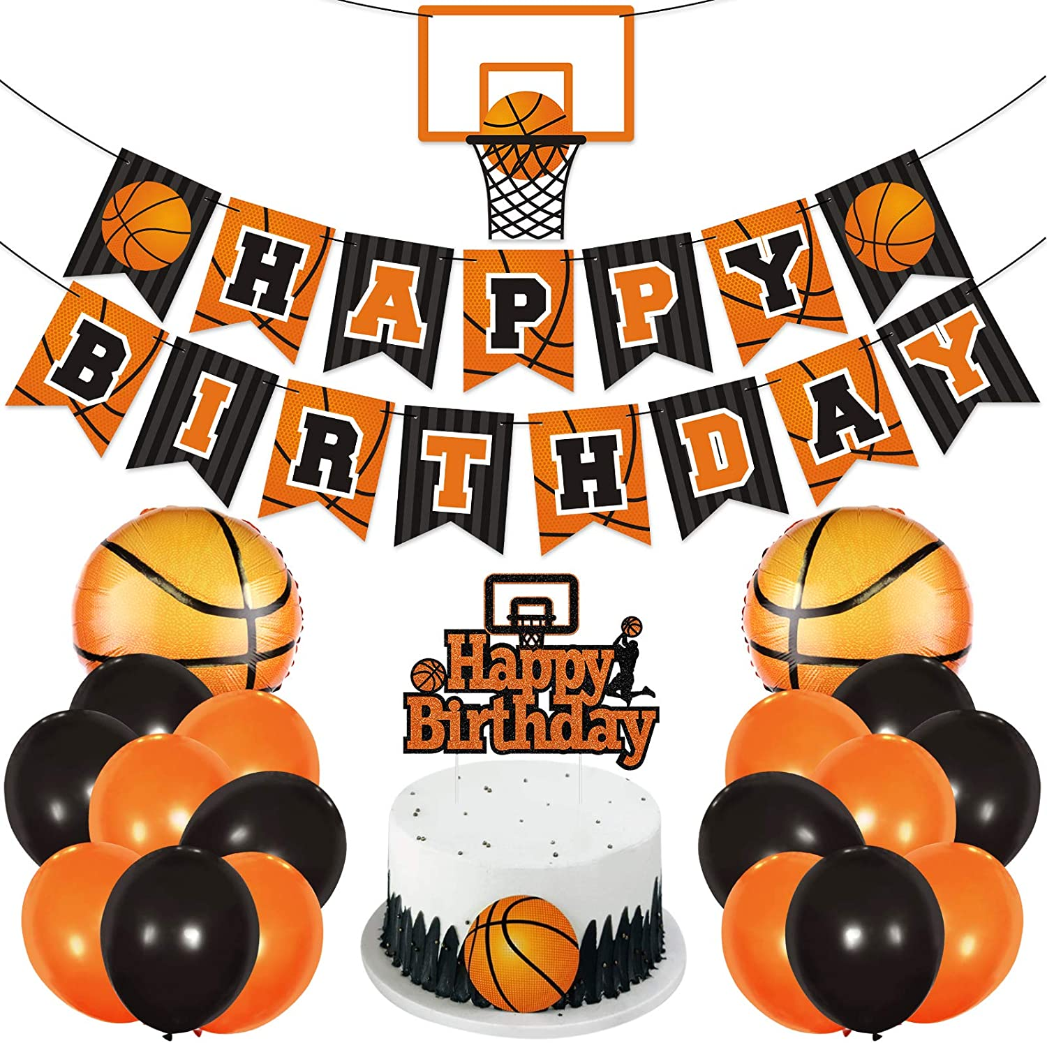 Basketball Birthday Party Decoration Slam Teenagers Ranking TOP8 Industry No. 1 Ad Dunk Kids