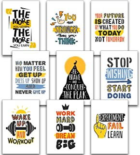 Motivational & Inspirational Quotes Posters Set for Classroom, Home, Room, Office - Wall Motivation Decorations Pictures 13